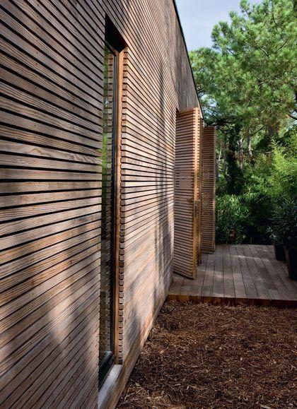 Cap-Ferret  une maison contemporaine à voir Timber cladding