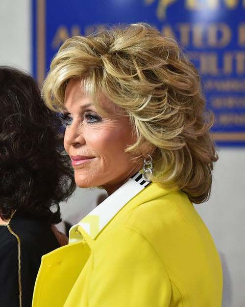 30 Most Stylish And Charming Jane Fonda Hairstyles Hairstyles