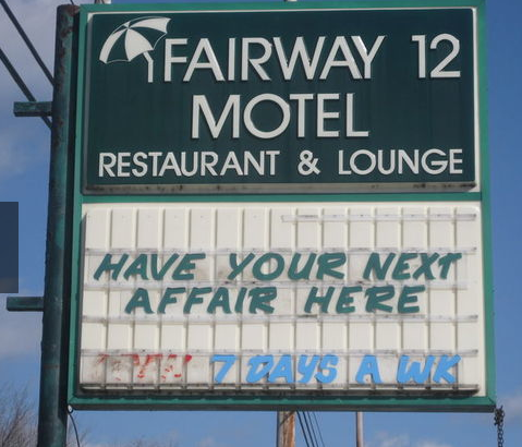 Hotel Motel Signs Humor Funny Signs Make Me Laugh Funny Texts