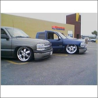 Lowrider Car Shows In California 2001 Chevrolet Silverado Photo