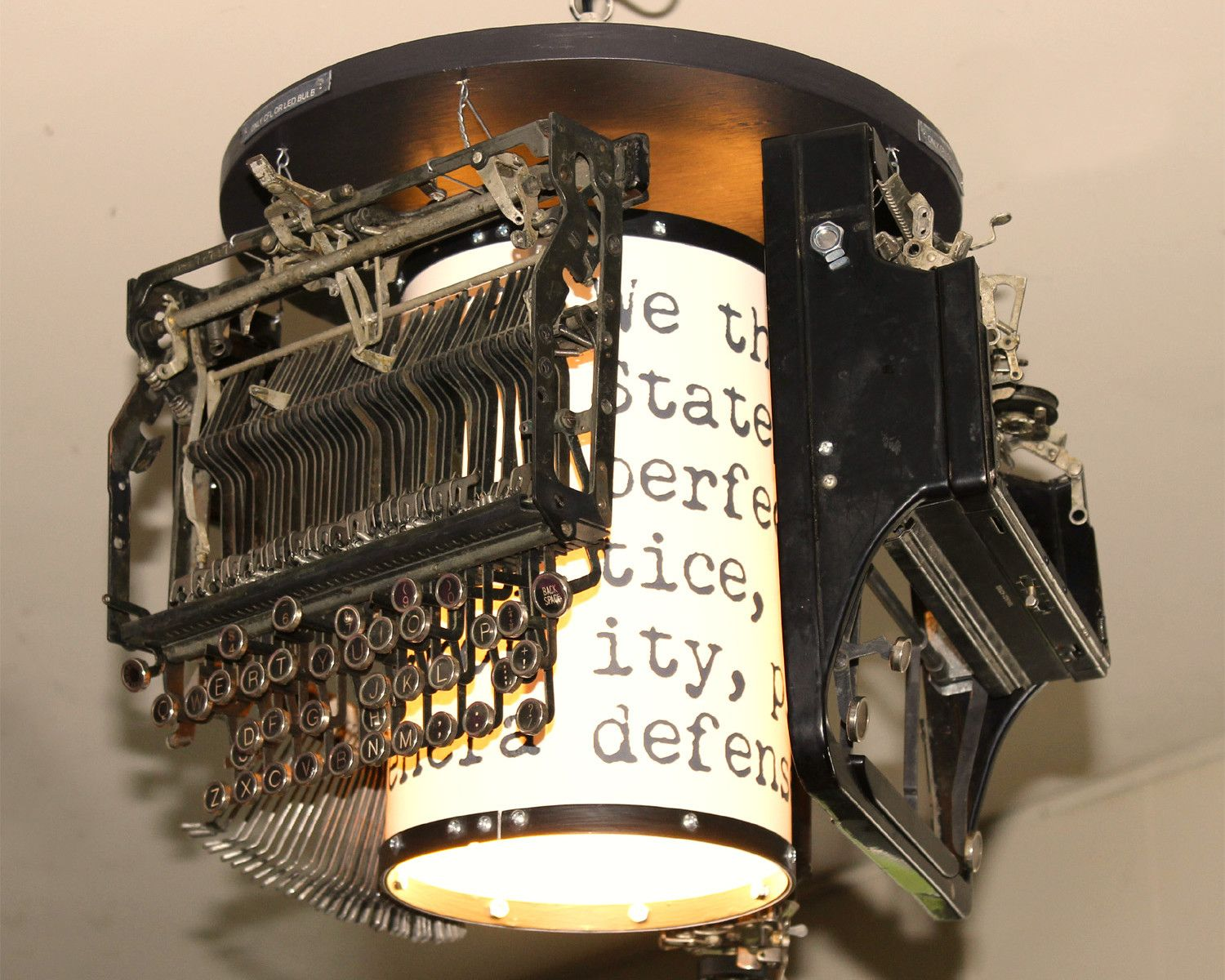Lamp Revival Transforms Landfill Waste Into One Of A Kind Lighting Sculptures Lamp Recycled Lamp Light Sculpture