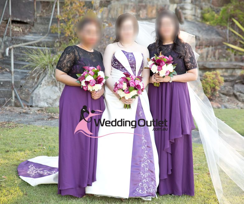 Pin by www.WeddingOutlet.com.au on Purple Bridesmaid Dresses ...