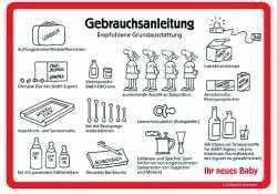Türschild Gebrauchsanleitung #Schilder