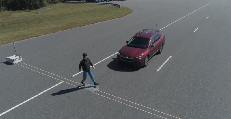 Six Cars Aced New Pedestrian Detection Tests New Tesla Roadster