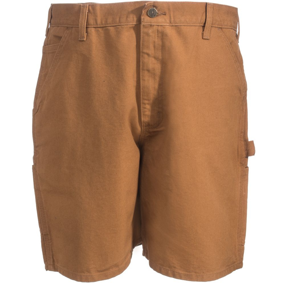 The Carhartt Men S Brown Duck Work Shorts Brn Are Perfect Solution To Help You Cope With Heat These Clic Desi
