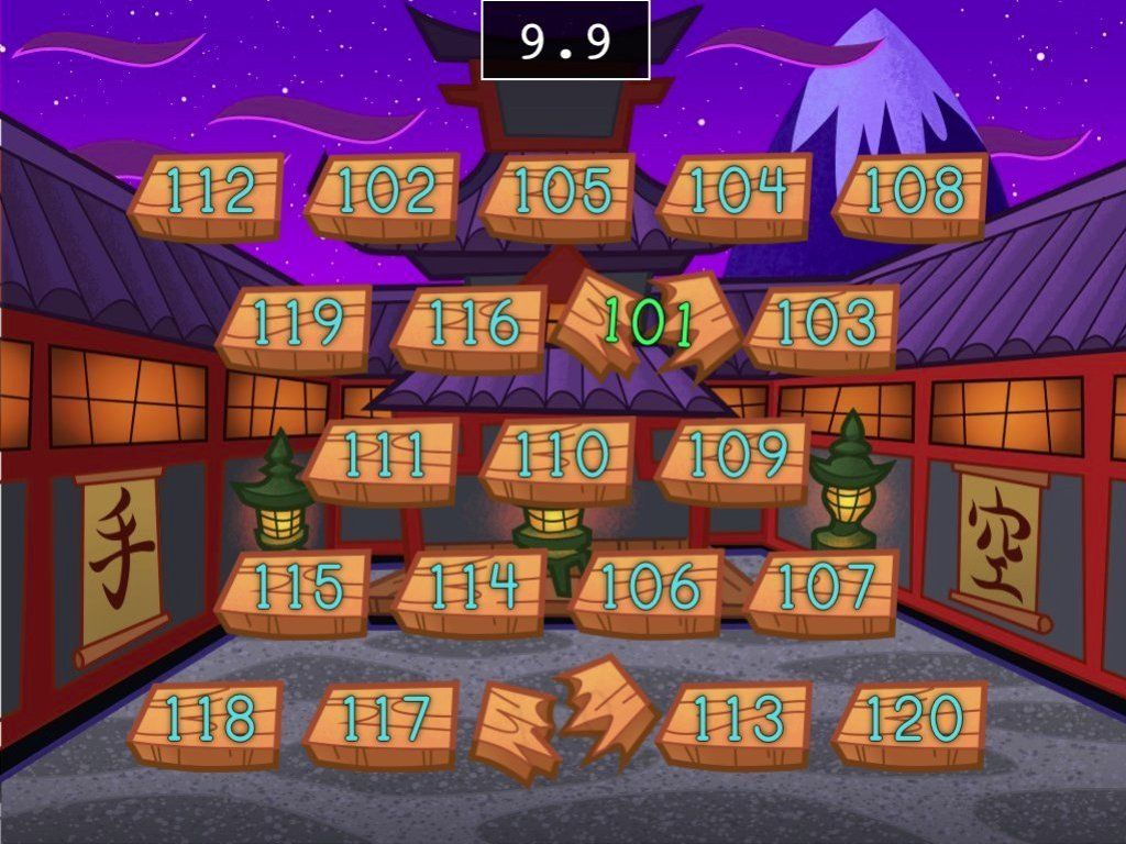 TONS of free online math games!! Speed Counting 100 to 120 - Math ...