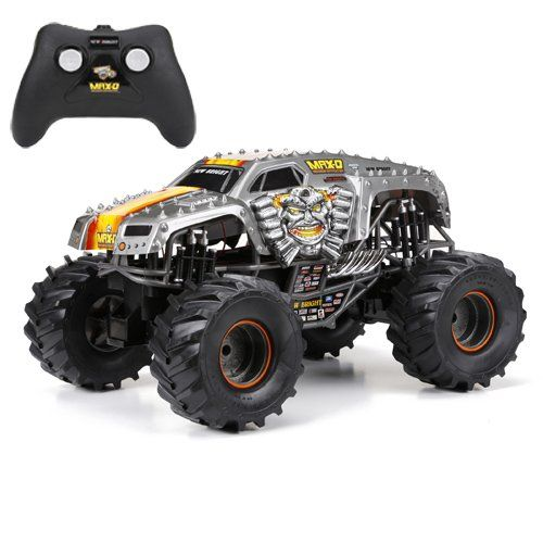New Bright F F 9 6v Monster Jam Max D Rc Car 1 10 Scale Remote Control Cars Radio Controlled Cars Rc Trucks