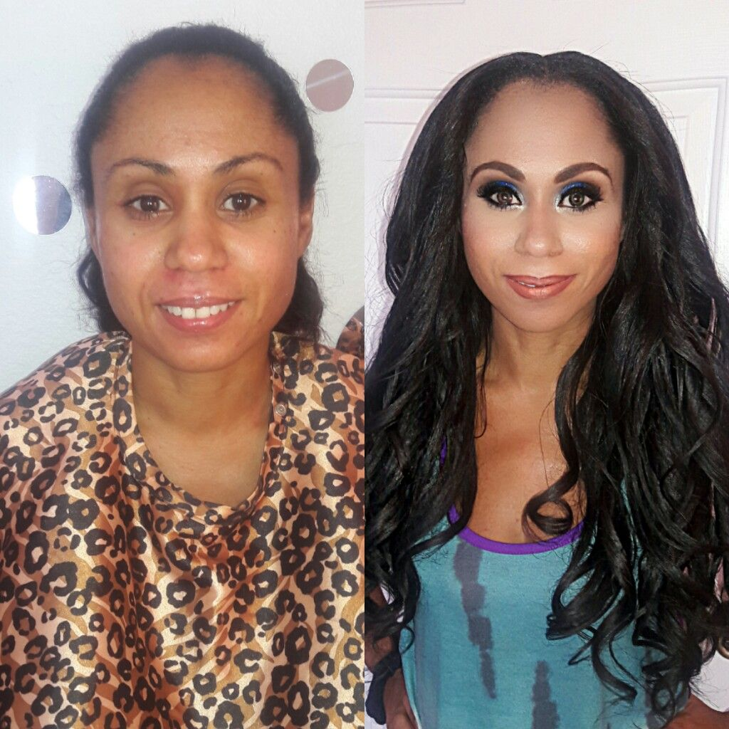 Glamour Makeup Makeover Transformation Makeup Orlando