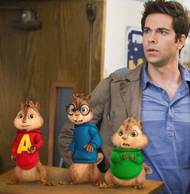 Still Of Zachary Levi In Alvin And The Chipmunks The Squeakquel
