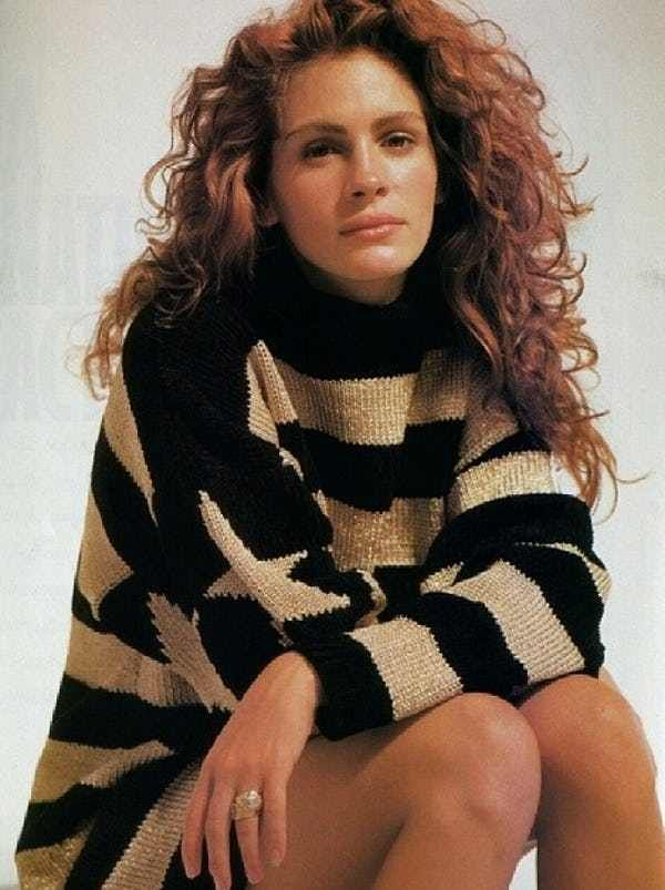 Young Julia Roberts In A Black Is Listed Or Ranked 5 On