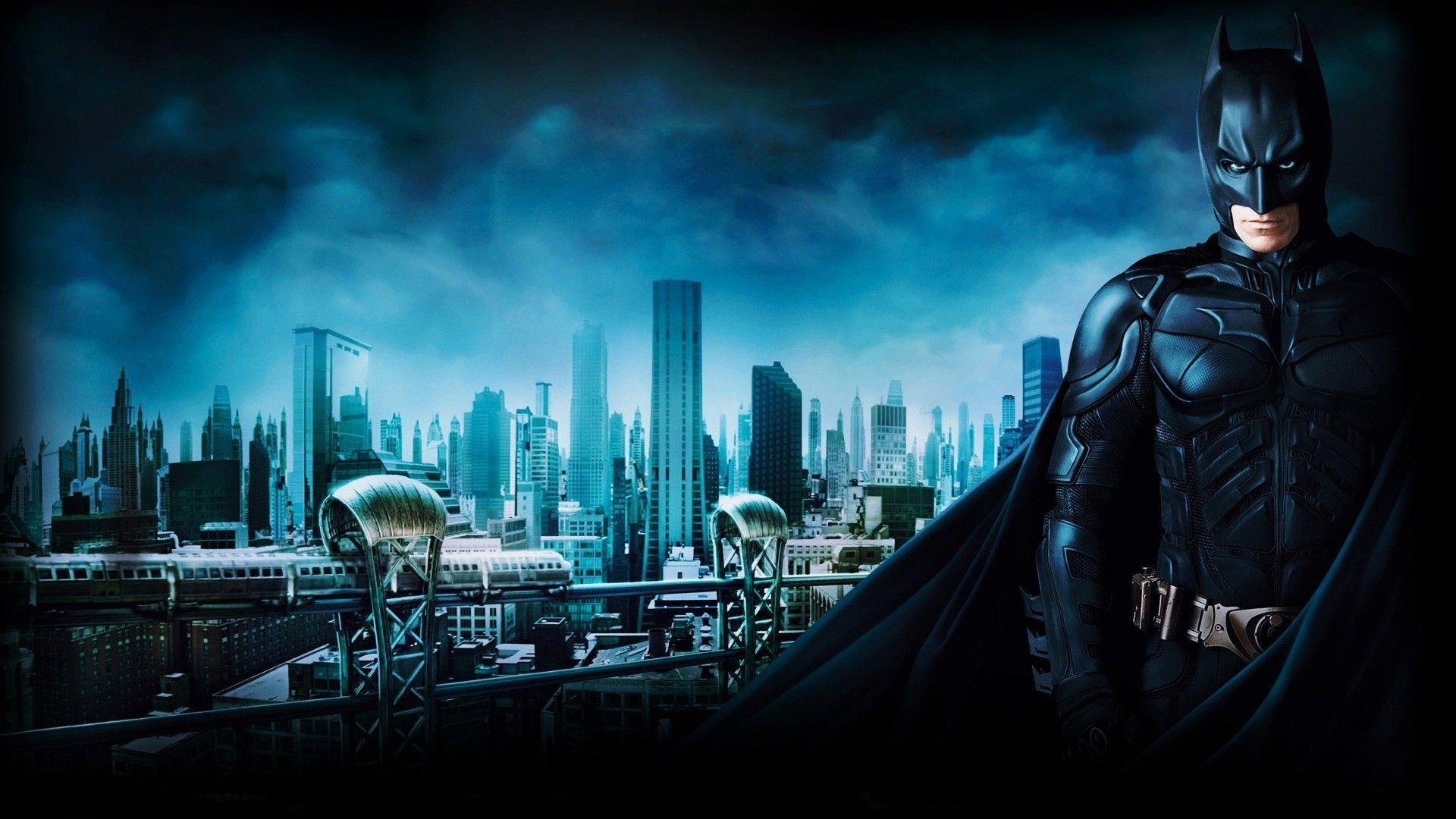 Hd wallpaper batman - Download Batman Begins Gotham Train Wallpaper Full Hd Wallpapers