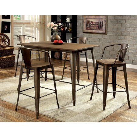 Home Pub Dining Set Counter Height Dining Table Counter Height