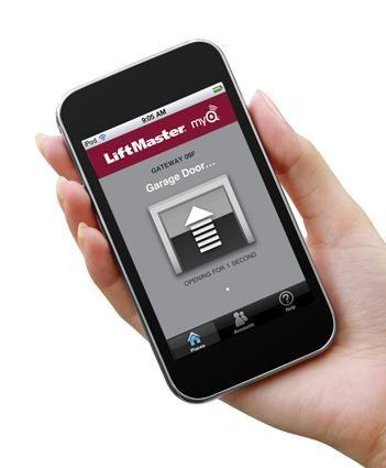 Garage Door Opener Apps Smart Garage Smart Home Pinterest