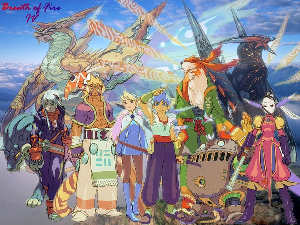 Breath Of Fire Iv Ps1