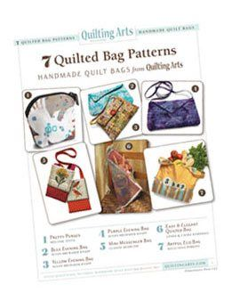 Our Gift to You Free Quilted Bag Patterns - Quilting Daily