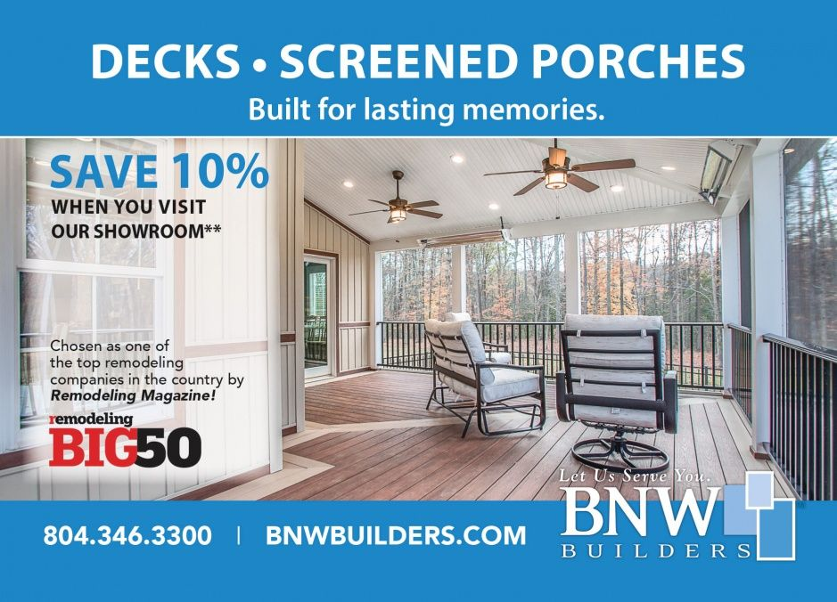 Bnw Decks And Porches The Best Place To Spend Time With Friends And Family Bnw Bnwbuilders Por Remodeling Magazine Remodeling Companies Decks And Porches