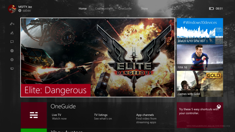 Hands-on with the New Xbox One Experience dashboard preview   money
