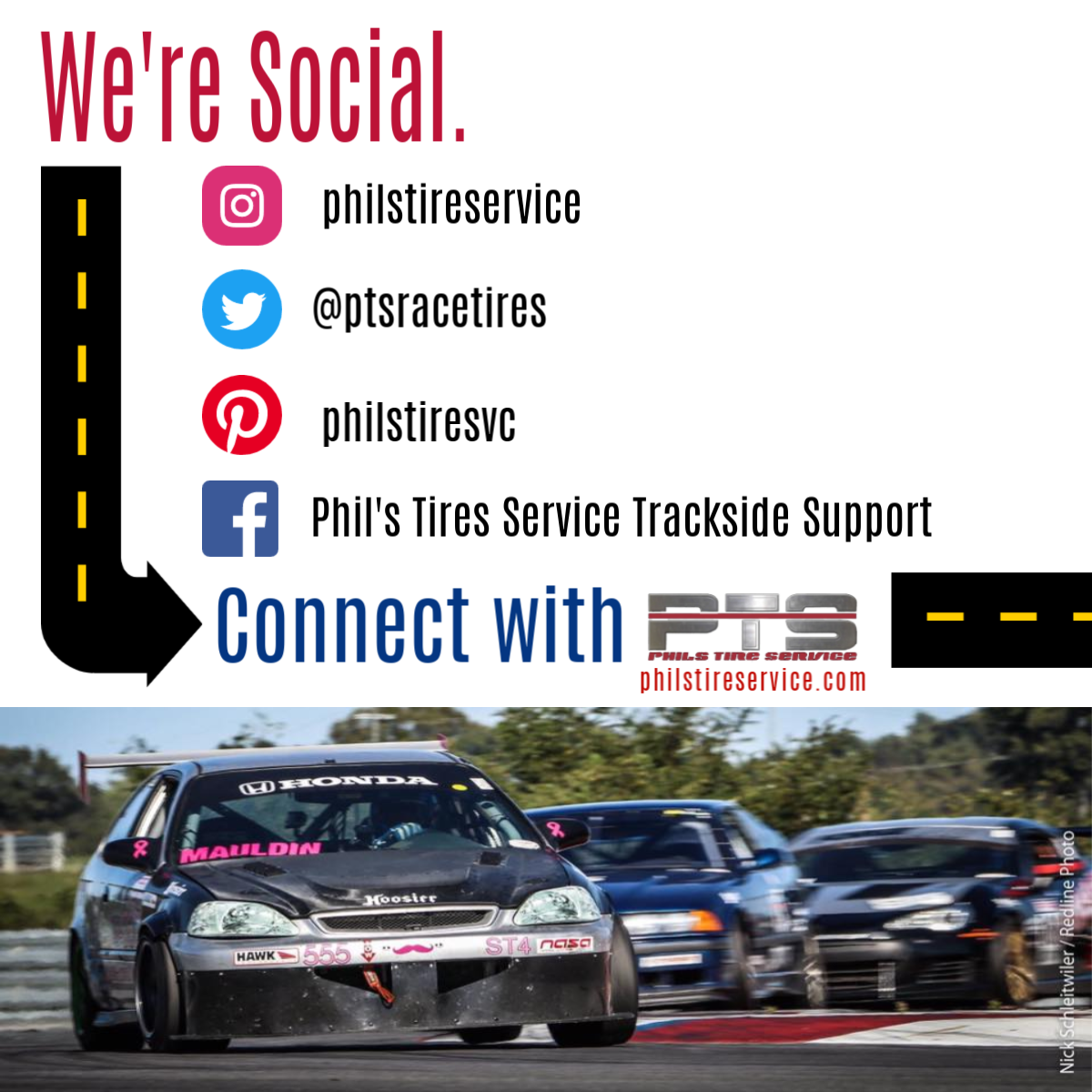 We're Social ... How About You? Let's Connect! (awesome