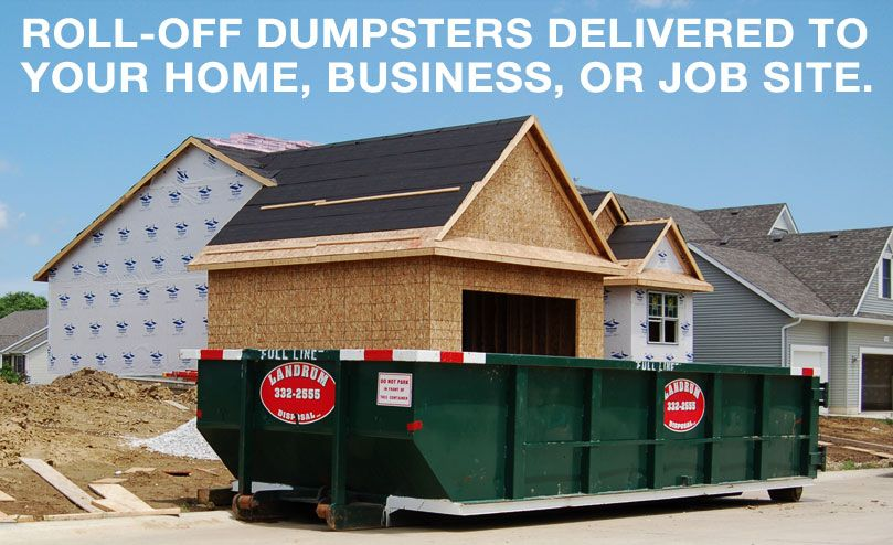 Roll Off Dumpsters Delivered To Your Home Business Or Job Site Roll Off Dumpster Dumpsters Rent Prices
