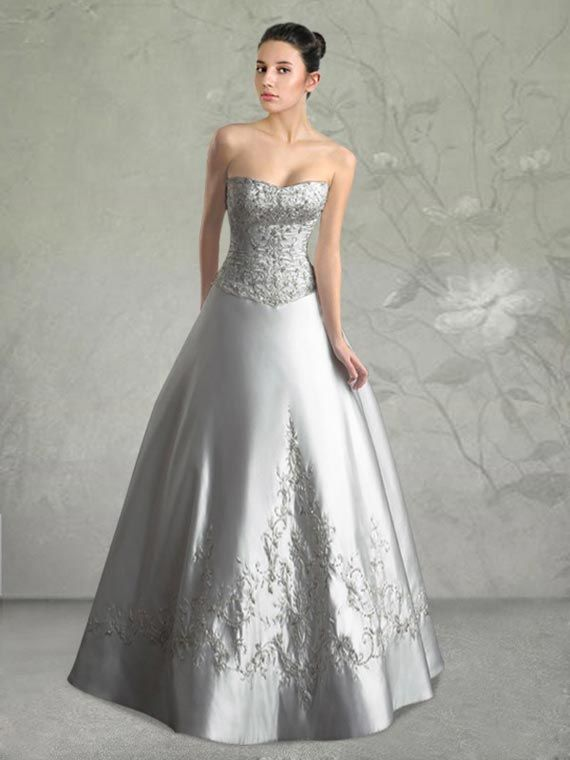 12af423055a I want to tell you about the Silver lace wedding dresses Photo - 4. See  photos of Silver lace wedding dresses Photo - 4 and choose those which you  like the ...