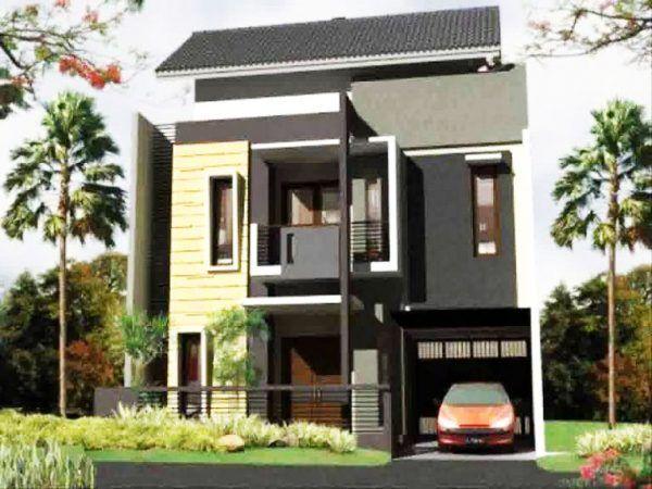 Rumah Minimalis Ukuran 6x9 2 Lantai Denah Lantai 1 Dan Laitai 2