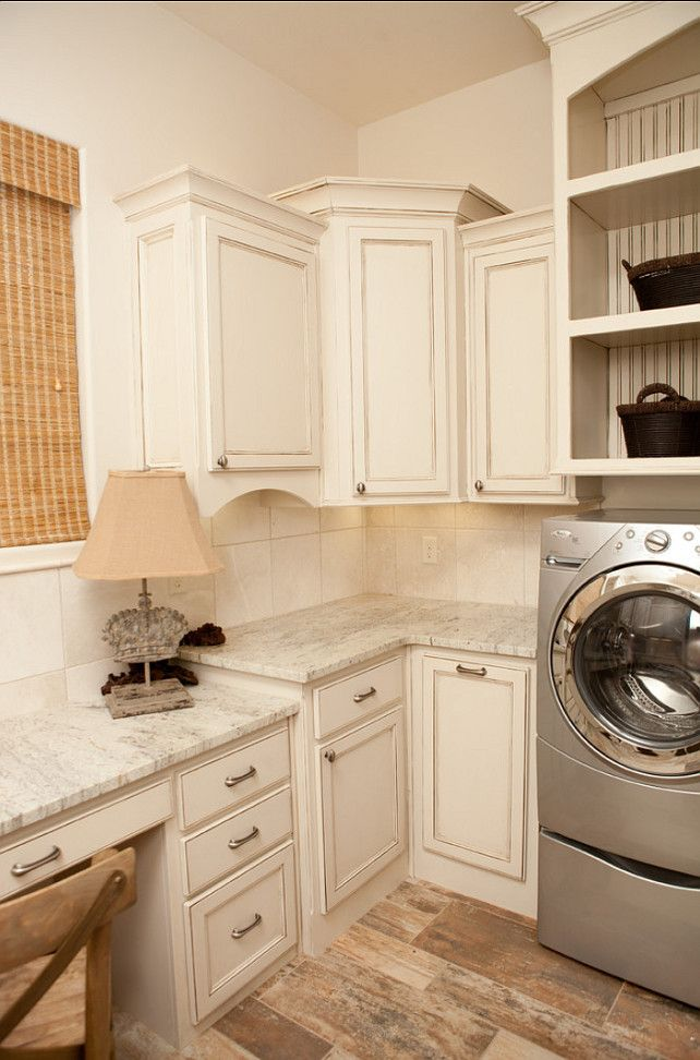 laundry room with a desk office work area Smart use of