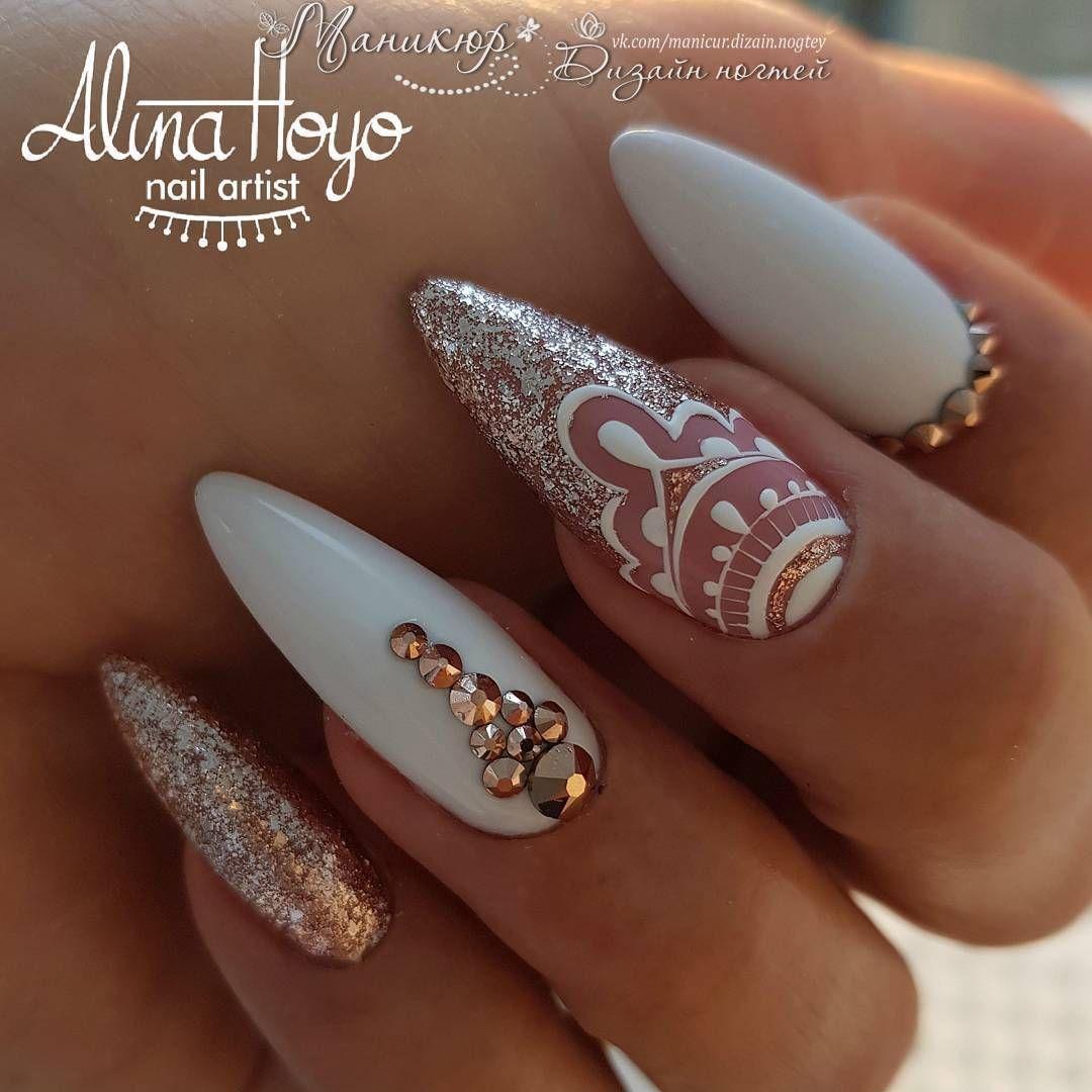 Маникюр   Дизайн ногтей   VK   ногти   Ногти, Гвоздь ...