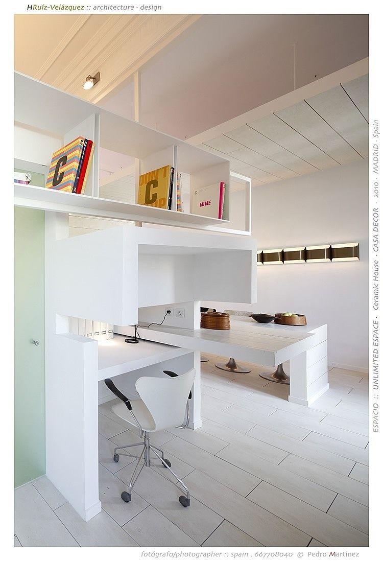 Ascer Ceramic House By Hruiz Velazquez Architecture Attic Spaces Attic Renovation Attic Design
