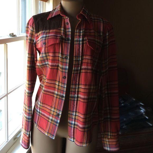 Ralph Lauren Rugby Flannel Shirt Flannel Shirt Clothes Design Ralph Lauren