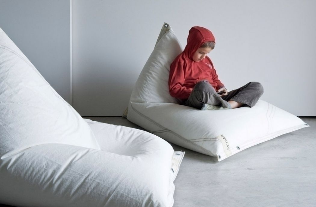 The Genois Armchair Pouf From Spanish Design Team DVELAS Made With Recovered Sail Bean Bag ChairsBeansContemporary