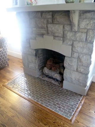Handmade Tiles For A Fireplace Hearth Inspired Remodeling Tile - Bathroom remodeling bloomington in
