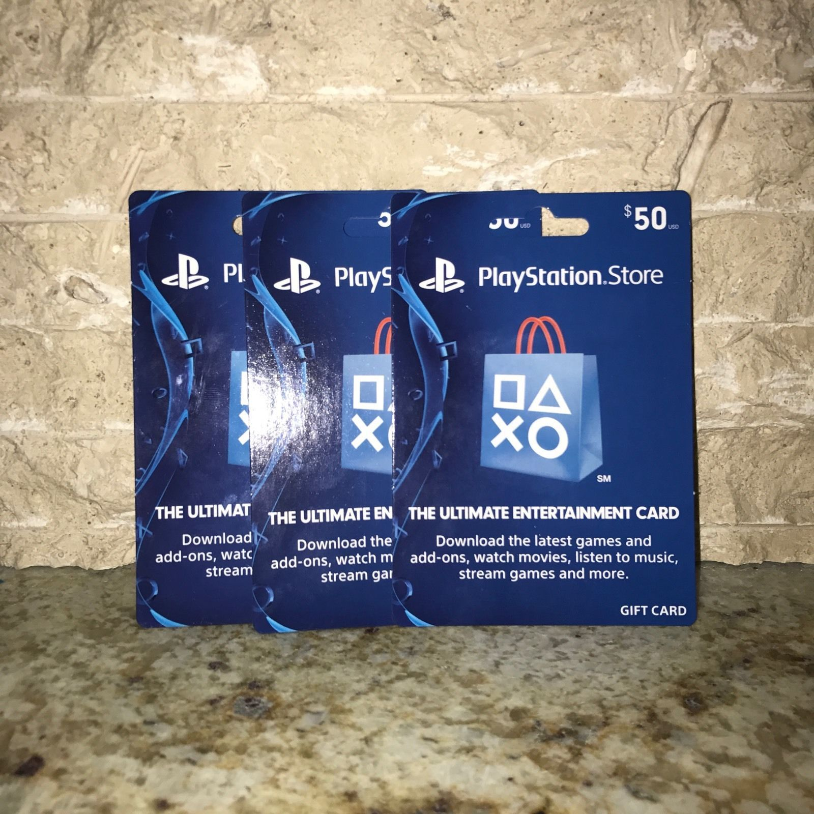 50 playstation store card