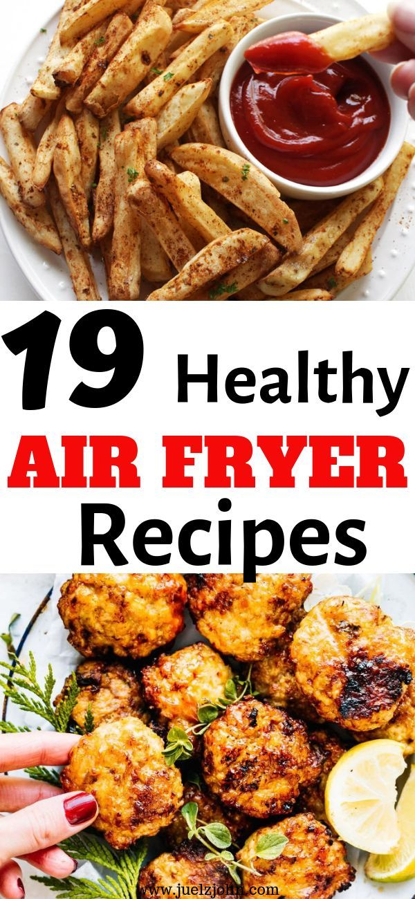 Easy Air Fryer Recipes That'll Change Your Life For The Best images