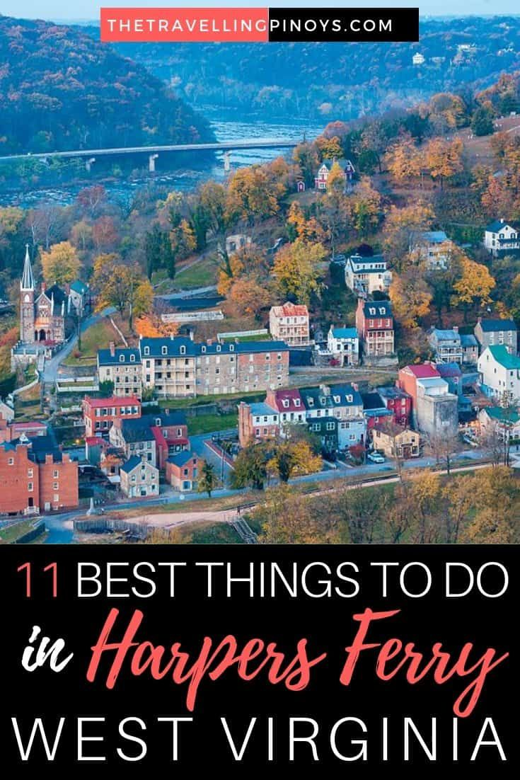 11 Things To Do in Harpers Ferry, West Virginia - The Travelling Pinoys #usatravel