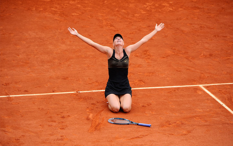 Maria Sharapova can finally say she won the French Open, after defeating Sara Errani 6-3, 6-2.