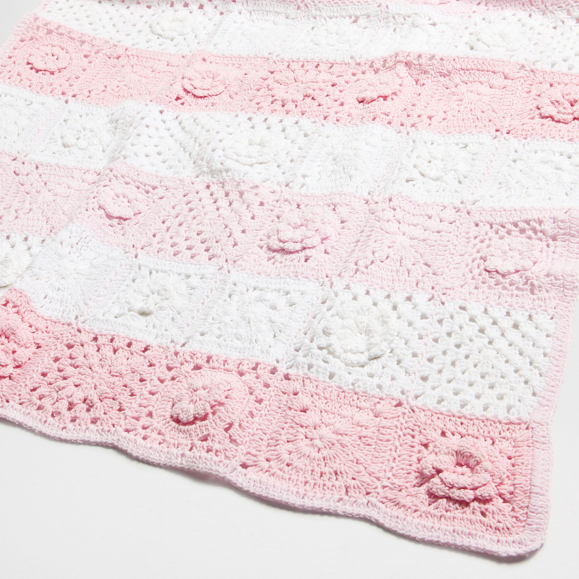 Manta algod n crochet mantas cama zara home espa a - Zara home es ...