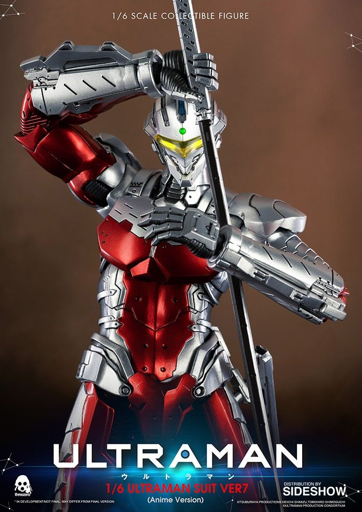 Ultraman Suit Ver7 (Anime Version) Figura Sixth Scale