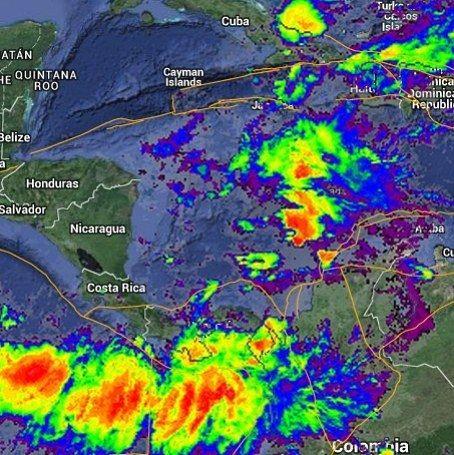 Ya se esta disipando el area de baja presion que amenzaba en formar una tormenta/huracan