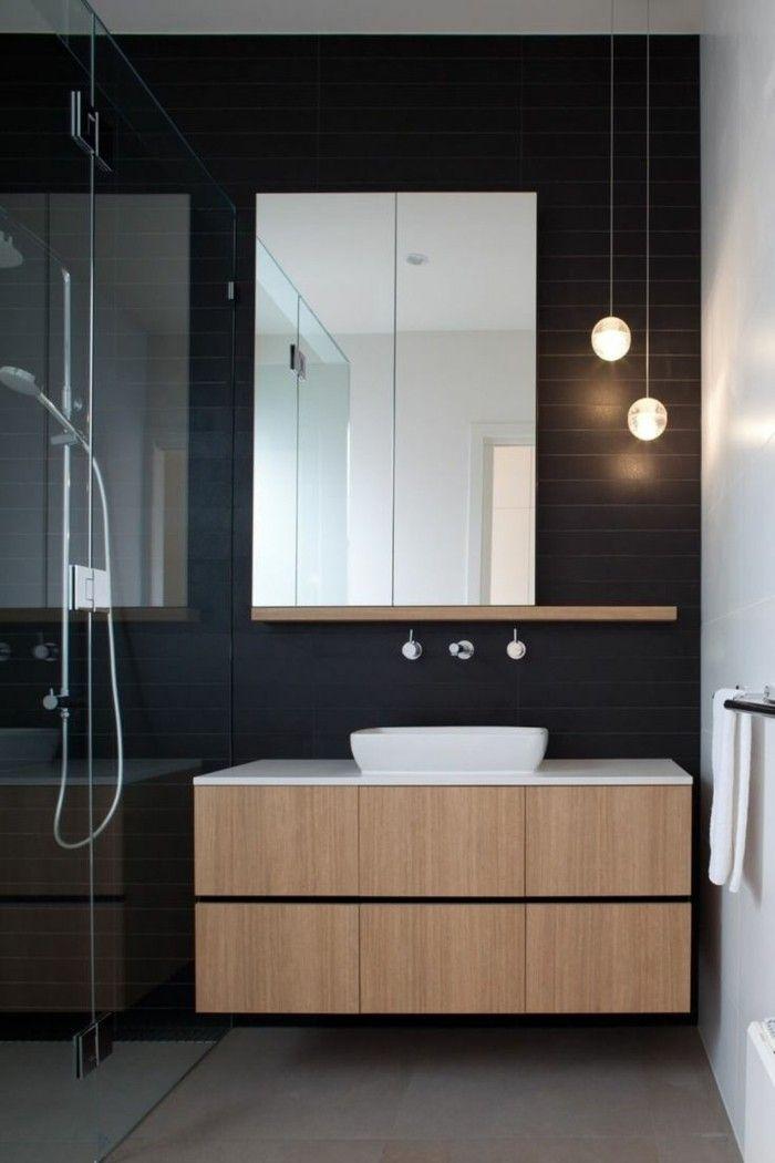 La beauté de la salle de bain noire en 44 images! | Home | Bathroom ...