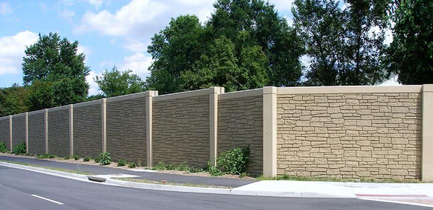 Whisper Wall Sound Absorbing Noise Barrier | Compound Wall