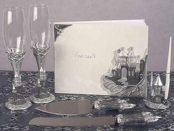 Cinderella Fairy Tale Castle Wedding reception Server Set