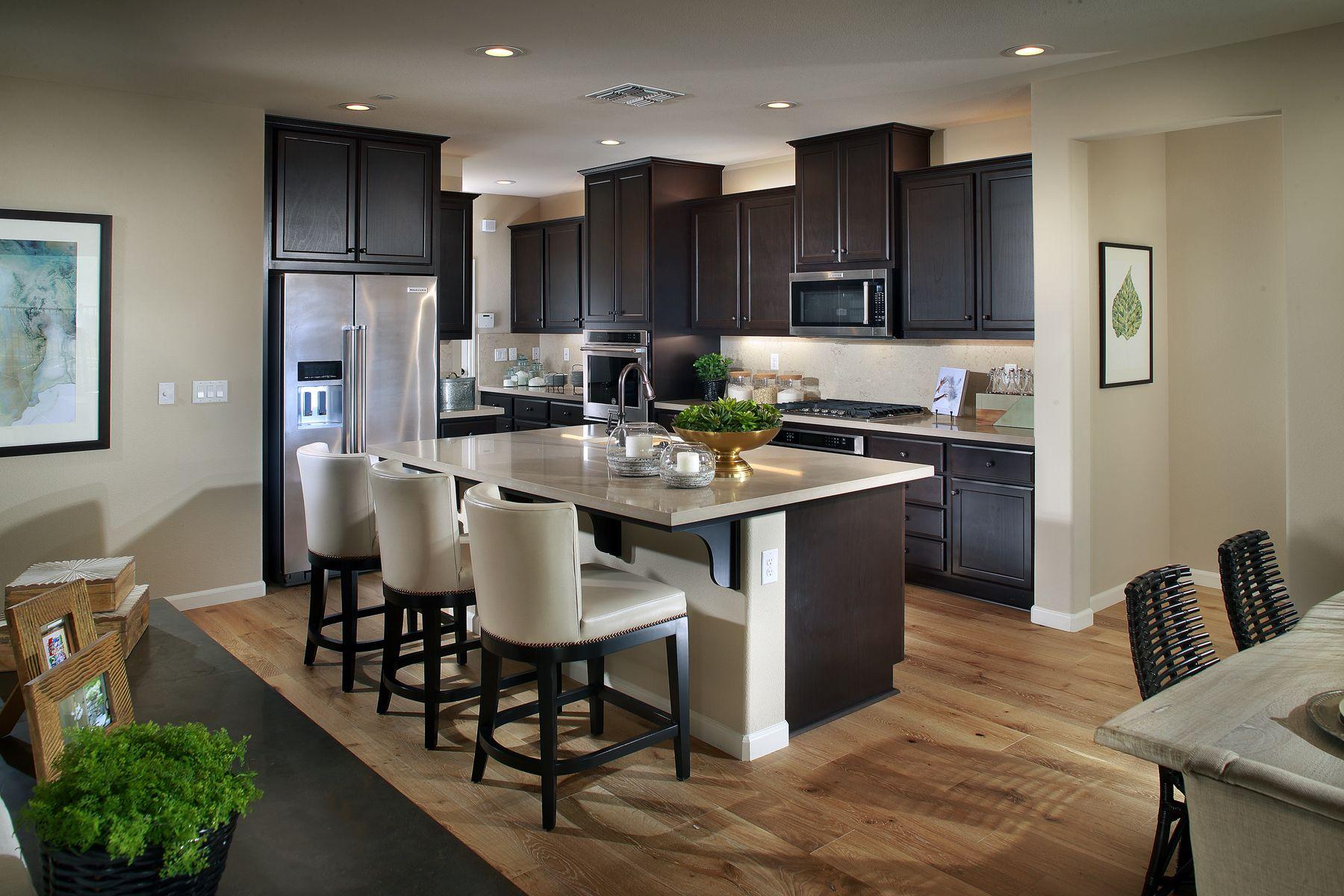 Residence Three Kitchen at Ironwood | New Neighborhood in Whitney ...