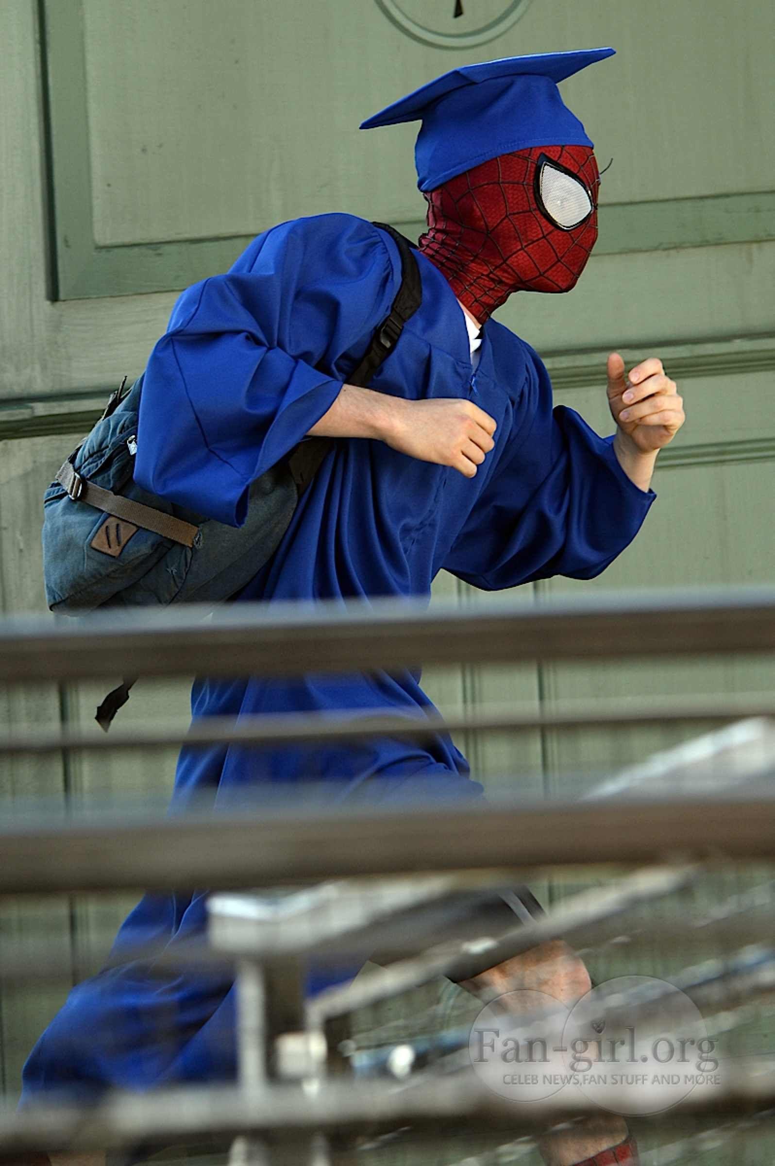 Amazing Spider Man 2 Spidey Attends High School Graduation Plus