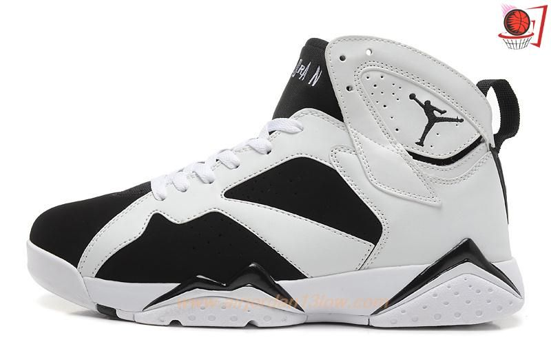 new arrival bac1d 828e9 Mens Black White 304775-010 AIR JORDAN 7 RETRO OREO Outlet Stores