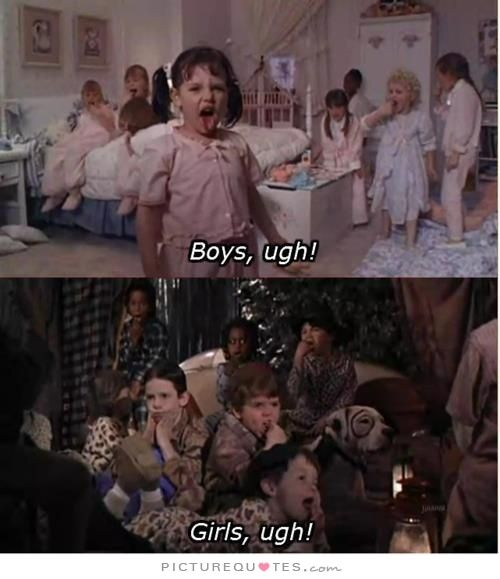 Ugh Quotes: Boys, Ugh! Girls, Ugh!. Picture Quotes.