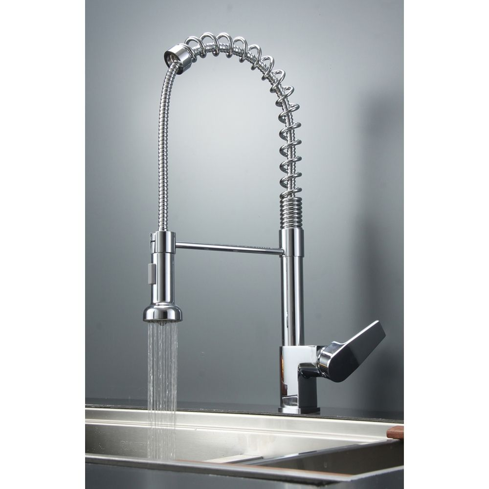 Best Commercial Kitchen Faucets With Cool Style Pullout Spray