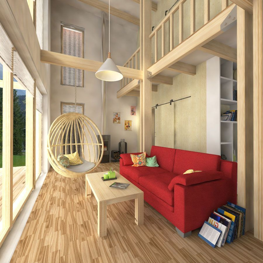 Two Story Flat Roof House Plans Flat Roof House Open Space Living Room Open Space Living