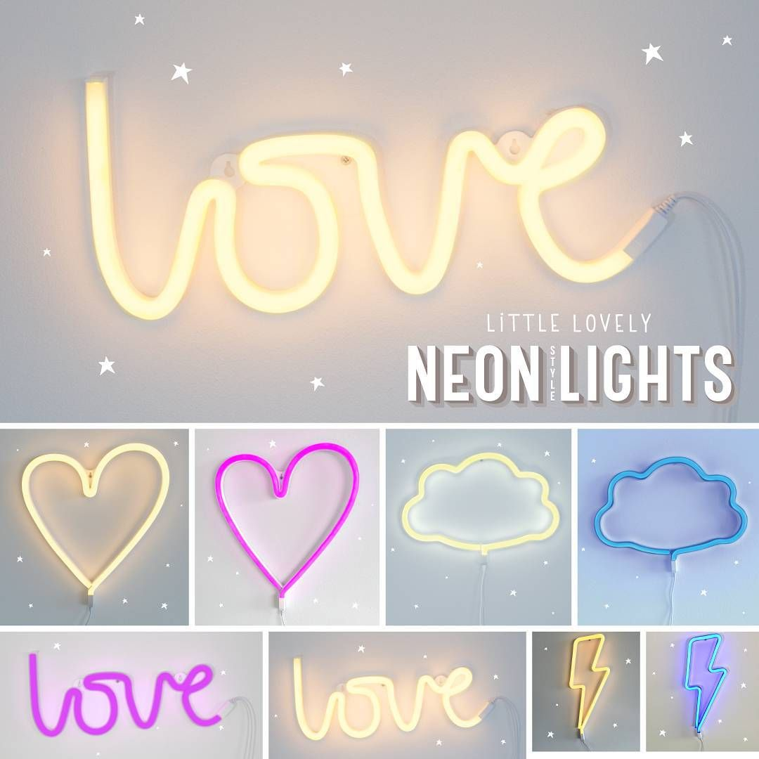 "859 Likes, 14 Comments - A Little Lovely Company (@alittlelovelycompany) on Instagram: ""Lets Sparkle & Shine into the Weekend!! #NEON #neonlightning #alittlelovelycompany #neonsign"""