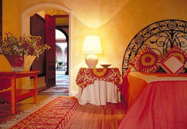 Mexican Interior Design Bedroom: Hacienda De San Antonio In Mexico