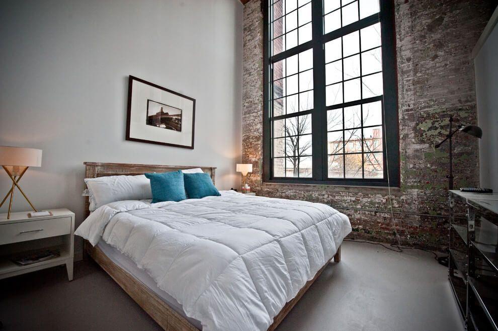 Slaapkamer Ideeen Mannen : Dit rauwe industriële appartement is een industrieel droomhuis voor